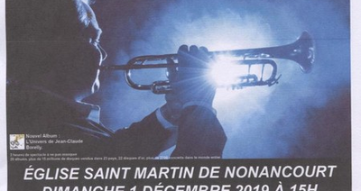 NONANCOURT CONCERT JEAN-CLAUDE BORELLY